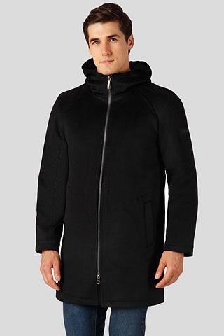 Пальто короткое с нежный Wattierung и ...