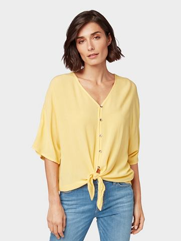 Блузка-футболка Блузка с Knoten-Detail...
