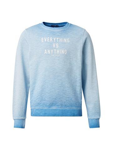 Пуловер с капюшоном Футболка с Print&l...