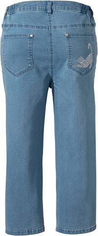 CLASSIC BASICS Капри-джинсы с c боку Dehnbund