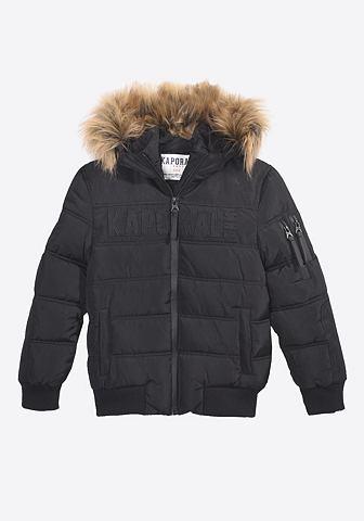 Куртка стеганая в модный имитация