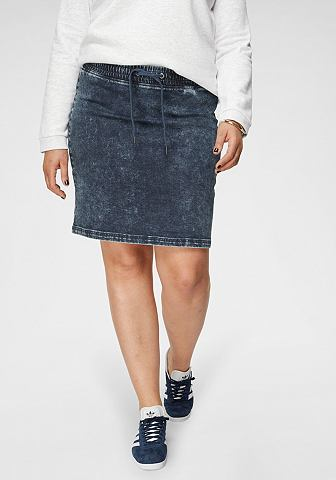 ARIZONA Юбка джинсовая »Jogg-Style«...