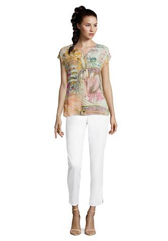Блузка-рубашка с узор