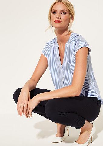 Рубашка с короткими рукавами с узор