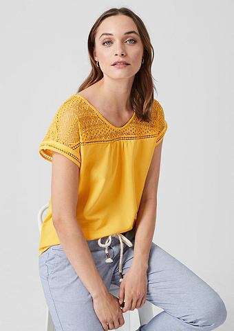 Блузка-рубашка в Fabricmix