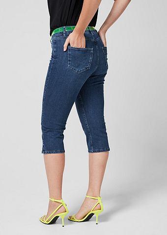 Curvy: капри-джинсы