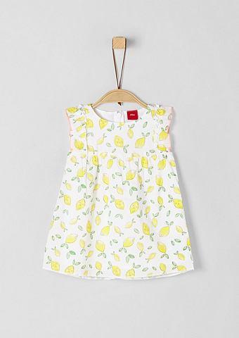 Batistkleid с Zitronen-Print для Babys...