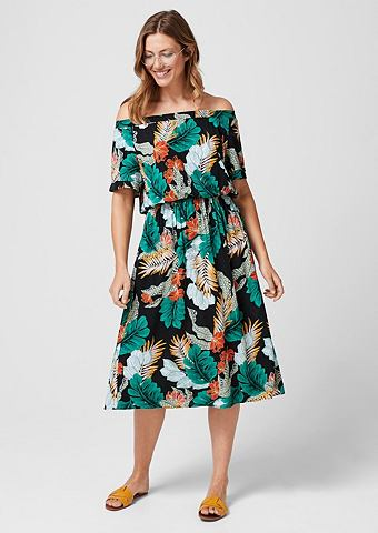 Off платье с открытыми плечьями с Prin...