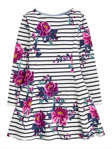 Платье из джерси с цветочный узор