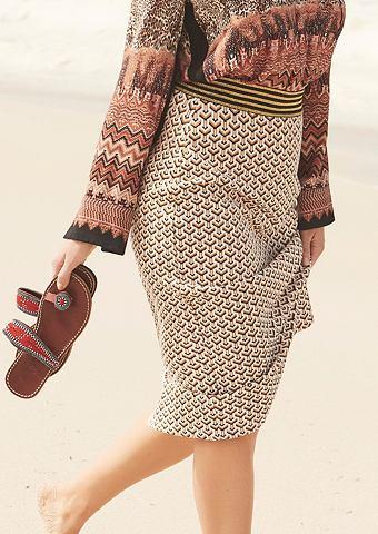 Pencil юбка с жаккардовый узор