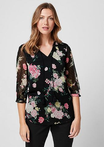 Блузка с Blütenprint