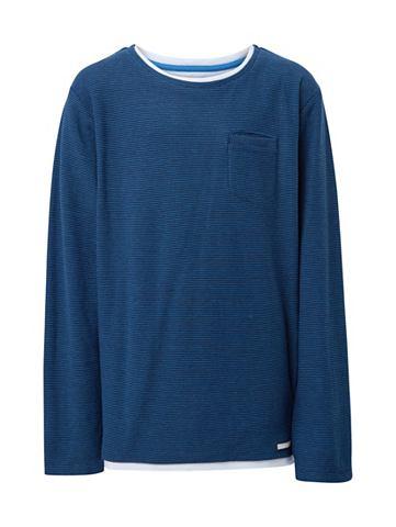 Трикотажный пуловер Свитер с Underlaye...