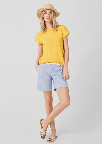 Элегантный шорты: брюки с ремень