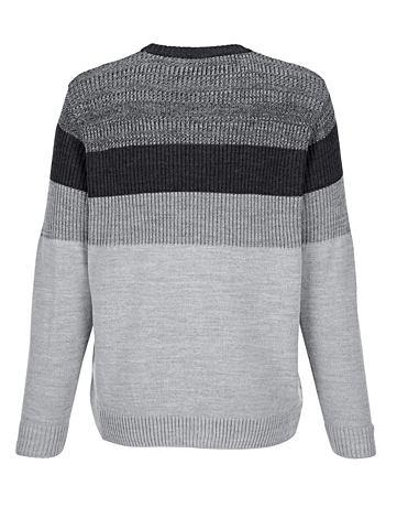 Пуловер с узор вокруг