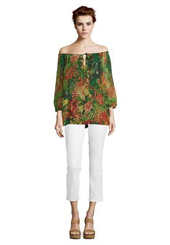 Блузка в стиле кармен с 3/4 рукава