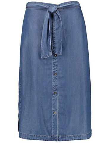 Юбка длинa weit джинсовая юбка из Lyoc...
