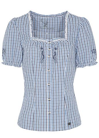 Spieth & Wensky блузка из национал...