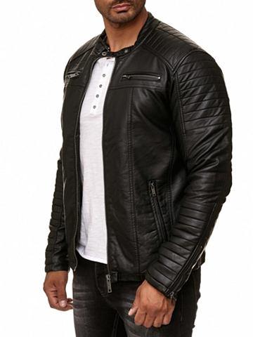 Herren Байкер-стиль куртка из искусств...