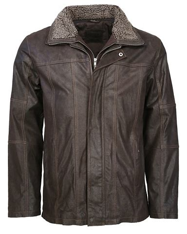 MUSTANG Куртка кожаная с съемный вставка &raqu...