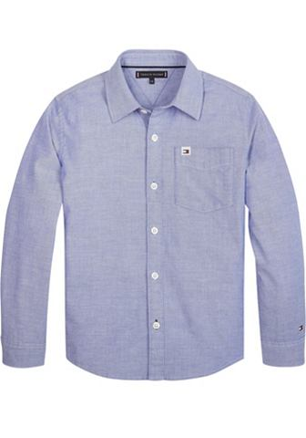 TOMMY HILFIGER Рубашка »SOLID OXFORD SHIRT&laqu...
