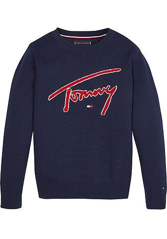 TOMMY HILFIGER Пуловер с круглым вырезом »TH SW...