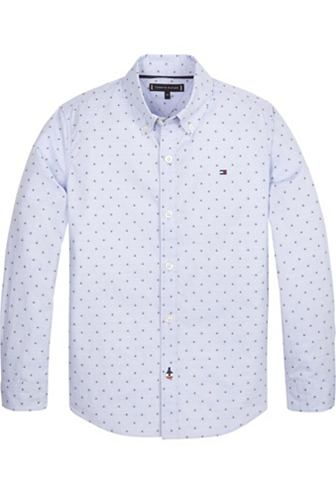 TOMMY HILFIGER Рубашка »GLOBAL DETAIL DOT DOBBY...