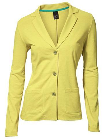 Пиджак трикотажный с короткий Revers