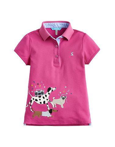 Рубашка поло с lustigem Tier-Print