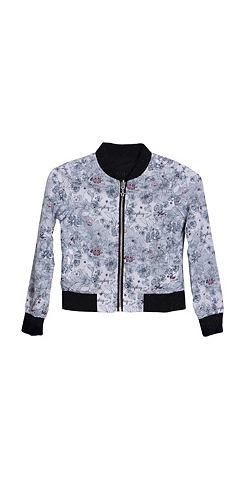 Куртка с красивый повторяющийся узор