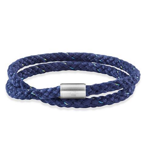 Браслет »Edelstahl Textil blau 2...