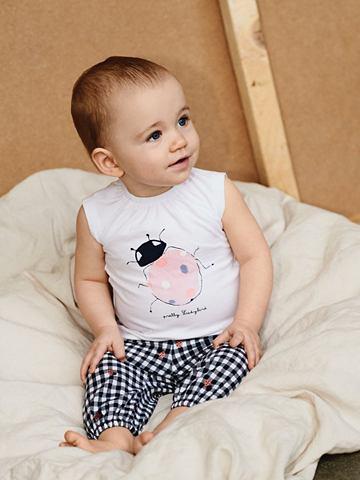 Клетчатая Baumwoll брюки