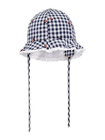 В клетку шляпа от солнца