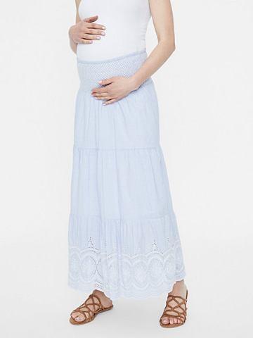 С узором Spitzen юбка для беременных д...
