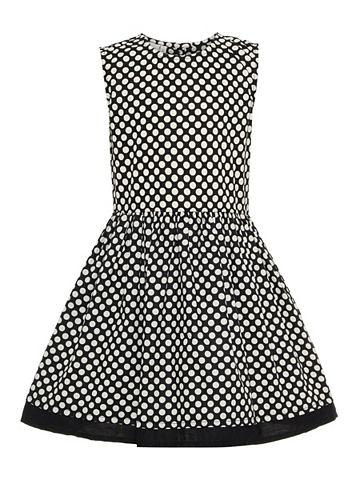 Пятнистый Baumwoll платье
