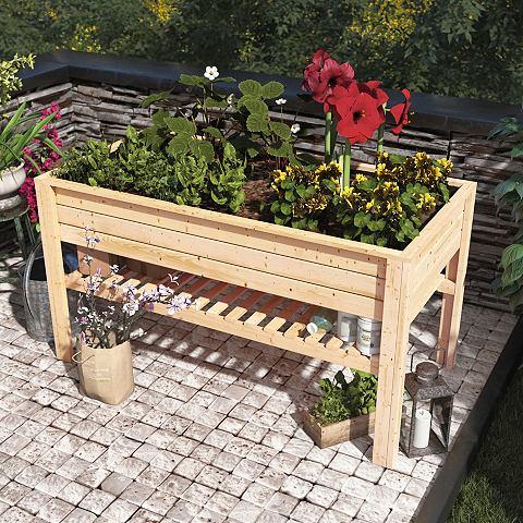 Ящик для растений BxTxH: 168x84x91 cm ...
