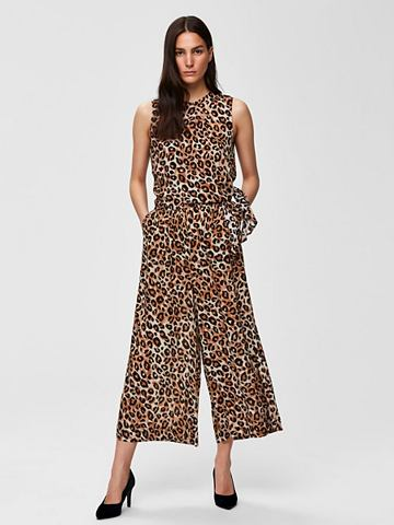 Cropped Leoparden комбинезон