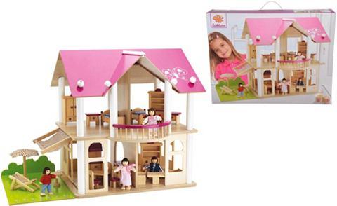 Puppenhaus »Villa 75 Teile&laquo...