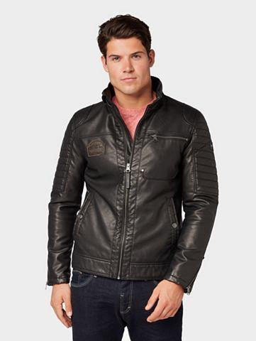 TOM TAILOR Куртка из искусственной кожи »Bi...
