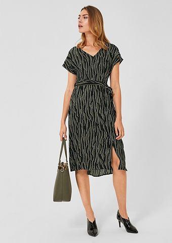 Платье из вискозы с Printmuster