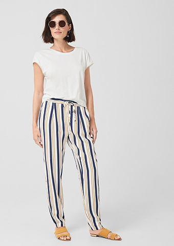 Fließende брюки полосатые