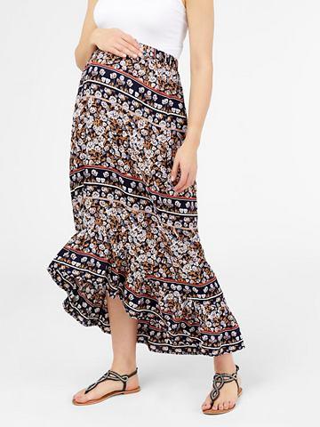 Цветочным узором юбка для беременных к...