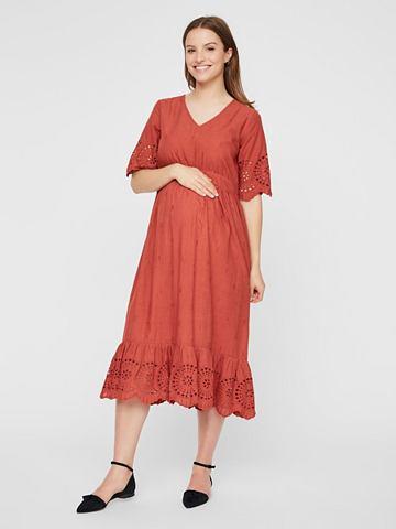 Stickereidetail платье для беременных