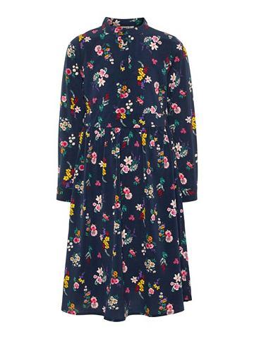 Длиная узор платье