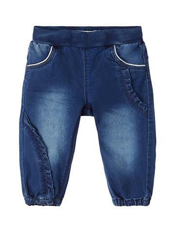 Weiche оборка джинсы