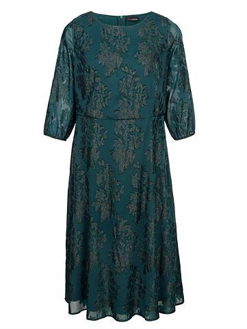 Платье с блестящий Blumenjacquard