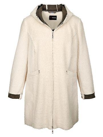 MIAMODA Куртка из flauschigem Kunstfell