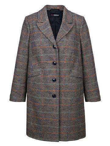 Пальто шерстяное с Karo-Muster