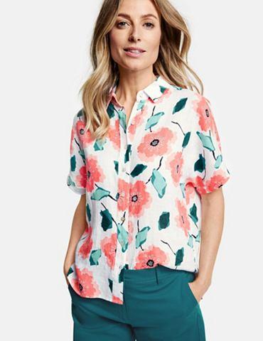 Блуза 1/2 рукава »Bedruckte Lein...