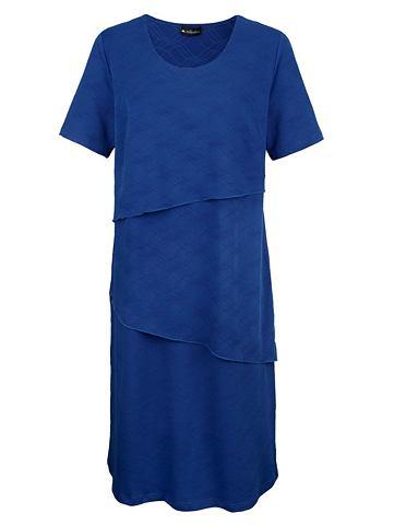 Платье из strukturiertem Jerseystoff