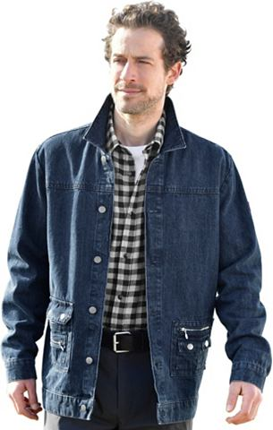 Куртка джинсовая с пуговицы